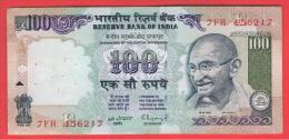 INDIA -100 Rupias ND  P-91  Serie  7FH  GANDHI - India