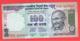 INDIA -100 Rupias ND  SC   P-91  Serie  7KW  GANDHI - India