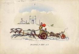 Carrozze Di Tutto Il Mondo - Serie 3 - Roma I Sec.a.c. - Formato Grande Viaggiata - Taxi & Carrozzelle