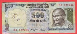 INDIA - 500 Rupias ND  P-92  Gandhi - India