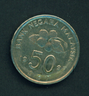 MALAYSIA - 1997 50s Circ. - Malaysie