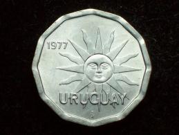 FV - URUGUAY 1977 - 1 CENTESIMO UNC - Uruguay