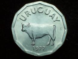 FV - URUGUAY 1977 - 5 CENTESIMOS UNC - Uruguay