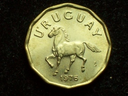 FV - URUGUAY 1976 - 10 CENTESIMOS UNC - Uruguay