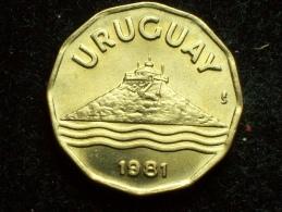 FV - URUGUAY 1981 - 20 CENTESIMOS UNC - Uruguay