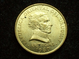 FV - URUGUAY 1960 -  10 CENTESIMOS UNC - Uruguay