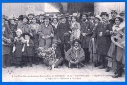CARTE POSTALE ANCIENNE CPA NON ECRITE BOURGES CHER 18000 LES 3 GRANDES JOURNEES 15-16-17 SEPTEMBRE 1911 GAUTHERON ET GUY - Bourges