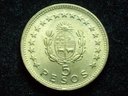 FV - URUGUAY 1965 -  5 PESOS UNC - Uruguay