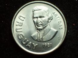 FV - URUGUAY 1981 -  10 NUEVOS PESOS UNC - Uruguay