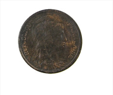 France - 1 Centime -  Dupuis -  1920 - TTB - Bronze - - A. 1 Centime