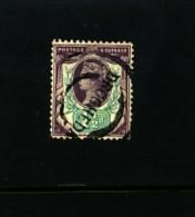 GREAT BRITAIN - 1887-1900 1½ D. PURPLE & GREEN  JUBILEE'S   FINE USED - Usati