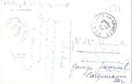 CAMBODGE - POSTE AUX ARMEES T.O.E. LE 8-7-1953 - CARTE POSTALE EN FRANCHISE POUR LA FRANCE-CARTE POSTALE LES BONZES CAM. - Marcophilie (Lettres)