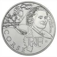 Lot Pièce 10 Euro Argent 2012 Région Corse Danielle Casanova UNC Neuve Euros Régions - Francia