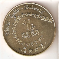 MONEDA DE FRANCIA DE 1/4 DE EURO DEL AÑO 2002 (RARA) - Francia