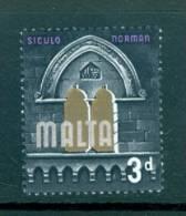 Malta: 1965/70   QE II  - Pictorial   SG335     3d       MH - Malta