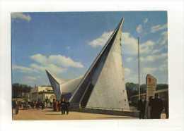 -BELGIQUE BRUXELLES . EXPO UNIVERSELLE DE 1958 . LE PAVILLON PHILIPS . - Expositions Universelles