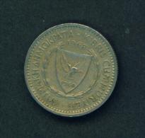 CYPRUS - 1968 25m Circ - Chypre