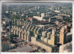 Villeurbanne 69 - Vue Aérienne : En 1er Plan Les Grattes Ciel  (HLM Immeubles) CPSM Dentelée GF N° 266.12 - Rhône - Villeurbanne