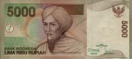 INDONESIA 5000 5,000 RUPIAH 2013 / 2001 P 142 NEW UNC - Indonésie