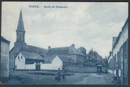 CPA -  BELGIQUE , VIANE,  Kerk En Pastorij - Geraardsbergen