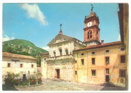 Y478 Collepardo (Frosinone) - Antica Badia Di Trisulti - Facciata Della Chiesa / Viaggiata 1965 - Altre Città