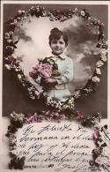 TARJETA POSTAL CIRCULADA, 1910, NIÑOS, CHILDREN, ENFANTS - Szenen & Landschaften