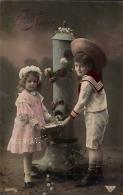 TARJETA POSTAL, ESCRITA, NIÑOS, CHILDREN, ENFANTS - Szenen & Landschaften