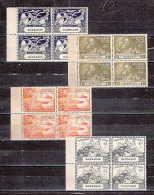 BARBADOS- 1949 -UPU ISSUE-BLOCK OF 4 MINT NH VF - SALE $ 4.00 - Barbados (...-1966)