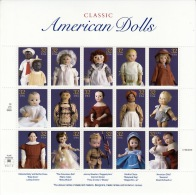 U.S. 3151  **   TOY  DOLLS - Sheets