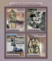 GUINEA BISSAU 2012 - Tutankhamun Tomb. Official Issue - Egyptologie