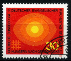 BRD - Michel 595 - OO Gestempelt (C) - Evangelischer Kirchentag - [7] West-Duitsland