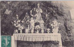 Cp , 85 , FONTENAY-le-COMTE , Environs , Intérieur De La Grotte Du Père De  Montfort - Fontenay Le Comte