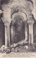 Cp , 85 , TIFFAUGES , Ruines Du Château , La Crypte Romane - France