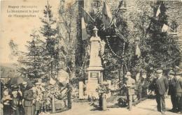 SUGNY LE MONUMENT LE JOUR DE L'INAUGURATION - Vresse-sur-Semois