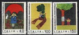 1976 - 1349/51 Giornata Francobollo - 6. 1946-.. Republik