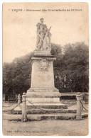 CP, 85, LUCON, Monument Des Combattants De 1870-71, Vierge - Lucon