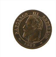 France - 2 Centimes - Napoléon III - 1862 K - Bronze - TTB - France