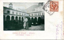 CERTOSA DI TRISULTI - CHIOSTRO     COLLEPARDO (ROMA)      1903 - Frosinone