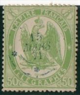 Aigle N°6. TIMBRE TELEGRAPHE .1868.     Lot N°50D - Telegraph And Telephone