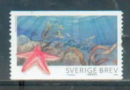 Suède Sweden 2009 - Vie Marine, étoile De Mer / Marine Life, Sea Star - MNH - Maritiem Leven
