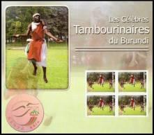 bur0702 Burundi 2007 Drummer s/s