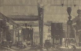 Pressbau Der Firma KRUPP, Essen, Um 1912, Waffenfabrik - Ausrüstung