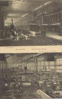 Martinwerk V + VI Der Firma KRUPP, Essen, Um 1912, Waffenfabrik - Ausrüstung