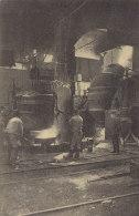 Ausgießen Einer Bessemerbirne In  Der Firma KRUPP, Essen, Um 1912, Kanonenfabrik - Ausrüstung