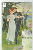 MILITARIA * MILITAIR * MOBILISATIE 1914 * ANSICHTKAART * CPA (2222) - Humour