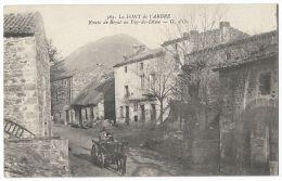 LA FONT De L´ARBRE (Puy-de-Dome) Village Proche D´Orcines - Route De Royat Au Puy-de-Dome - N°562 - France