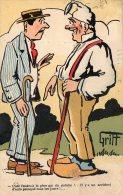 [DC8850] CARTOLINA HUMOR FRANCESE - Viaggiata - Old Postcard - Humor
