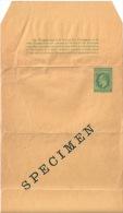 Entier Postal Bande Pour Journaux NYASALAND PROTECTORAT - Unclassified