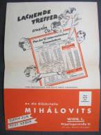Lotterie Los Mihalovits Österreich (Werbung)  ///  D*8388 - Lotterielose