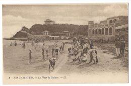 LES SABLETTES La Seyne-sur-Mer (Var) - La Plage Du Château - Très Animée - N°2 - La Seyne-sur-Mer
